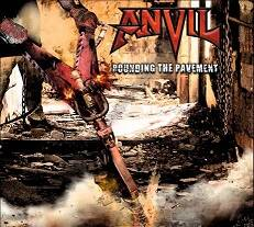 Anvil - Pounding the pavement lyrics