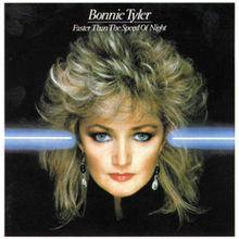 Bonnie Tyler - Faster than the speed of night lyrics