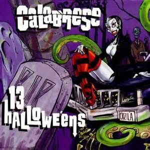 Calabrese - 13 halloweens lyrics