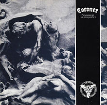 Letras de Coroner - Punishment for decadence