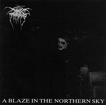 Darkthrone - A blaze in the northern sky lyrics