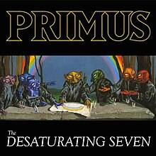 Primus - The desaturating seven album lyrics