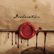 Red - Declaration lyrics