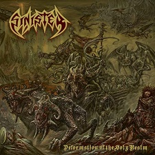 Sinister - Deformation of the holy realm lyrics