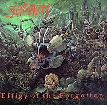 Suffocation - Effigy of the forgotten lyrics
