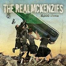 Letras de The Real McKenzies - 10000 shots